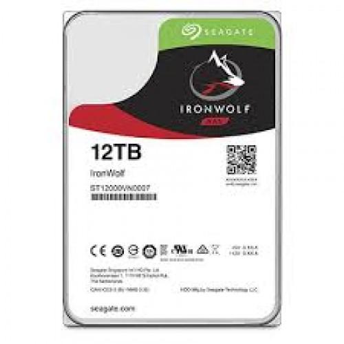 "3.5"" INTERNAL HDD SEAGATE IRON WOLF - 12TB"