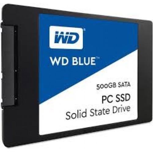 """2.5"""" INTERNAL SSD  WD BLUE  500GB"""