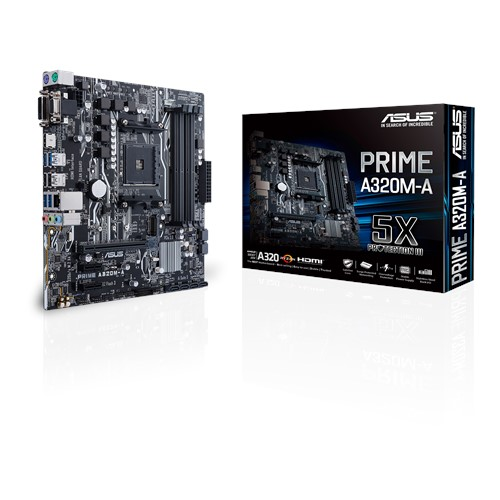 ASUS A320M-A PRIME MOTHERBOARD AM4