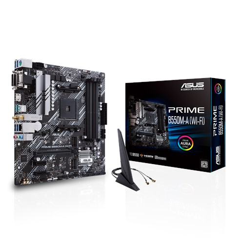 ASUS B550M-A (WIFI) PRIME MOTHERBOARD AM4