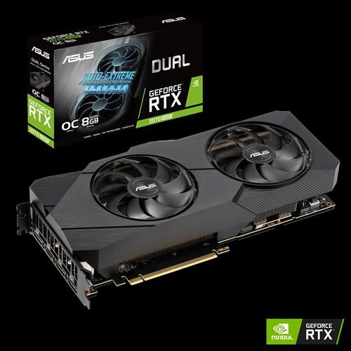 ASUS DUAL RTX2070S SUPER 8GB  EVO O.C