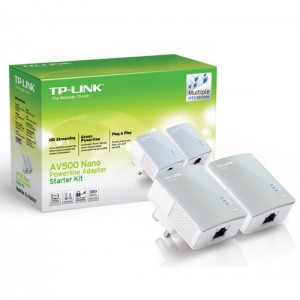 TP-LINK AV500 NANO POWERLINE -TL-PA4010KIT