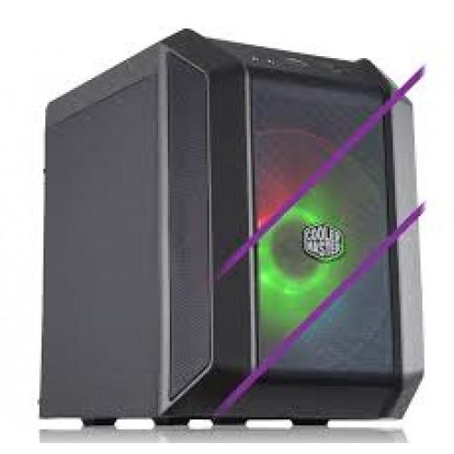 COOLERMASTER MASTERCASE H100 RGB M-ITX CASING