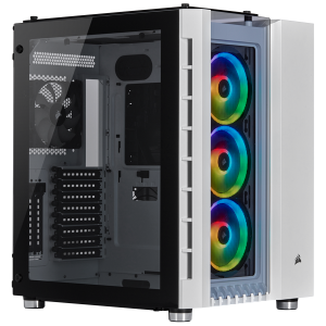 CORSAIR CRYSTAL SERIES 680X TG RGB ATX B/W
