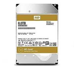 "W DIGITAL 3.5"" GOLD - 8 TB"