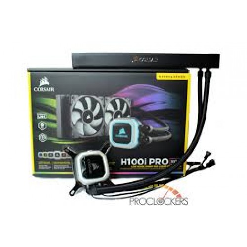 CORSAIR H100i  PRO RGB CPU COOLER