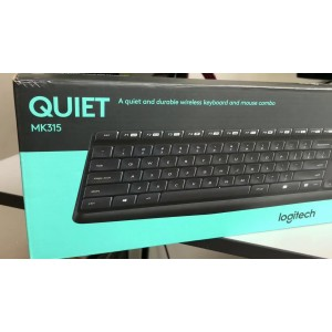 LOGITECH MK315 QUIET WIRELESS KEYBOARD & MOUSE