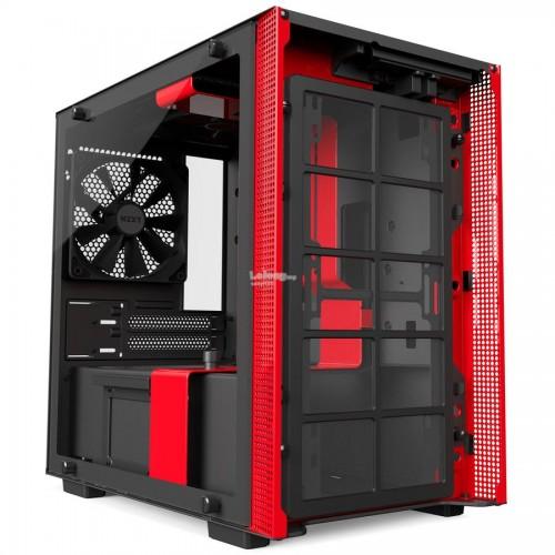 NZXT H200  BLACK  ITX  TG CASING