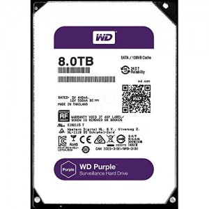 "WD 3.5"" 8TB PURPLE HDD"