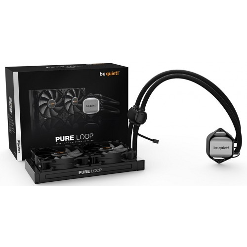 PURE LOOP 240 AIO WHITE LED 2XPURE WINGS 120 FANS