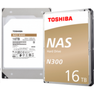 "3.5"" INTERNAL HDD TOSHIBA 16TB NAS300"