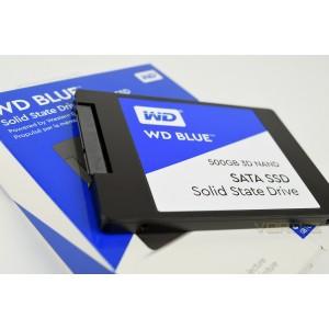 """WD 2.5"""" 500GB BLUE SSD"""