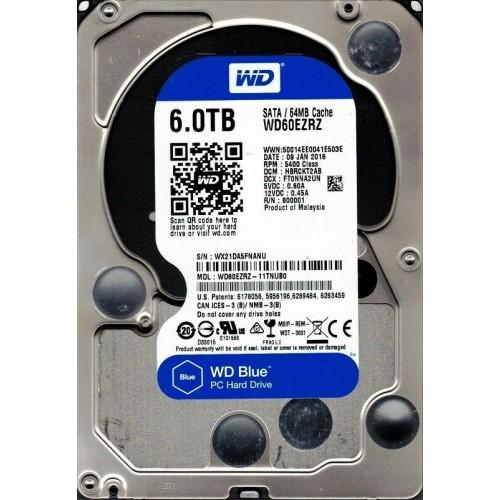 """3.5"""" INTERNAL HDD WD  6TB BLUE"""