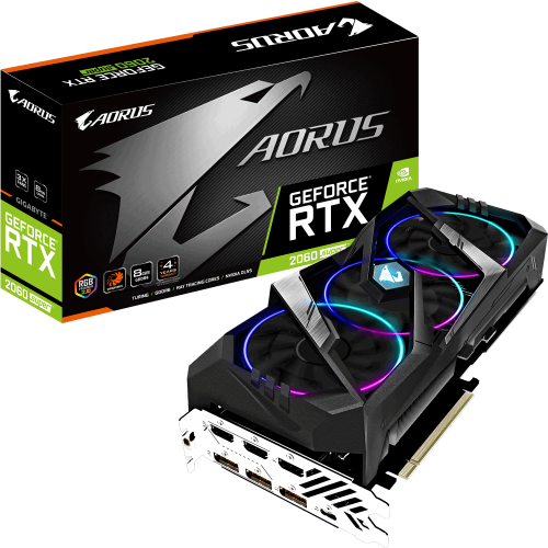 GIGABYTE RTX2060 SUPER GAMING AORUS 8GB OC