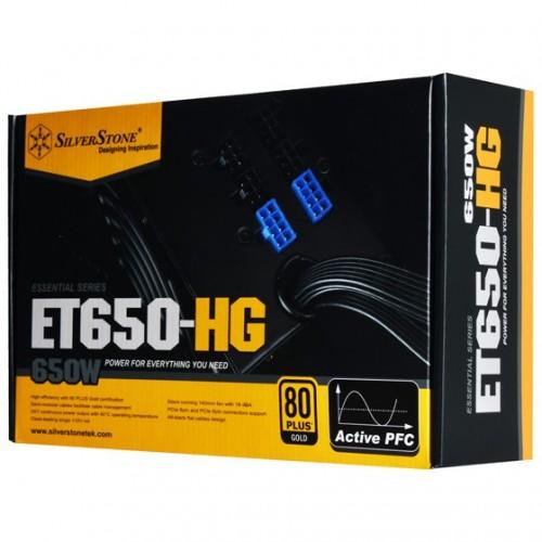 SILVERSTONE 650W GOLD PSU - ET650-HG